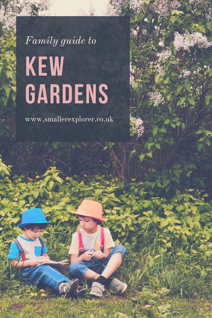 kew gardens with kids