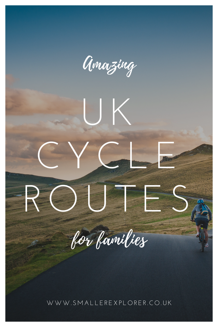 Amazing UK cycle routes for families