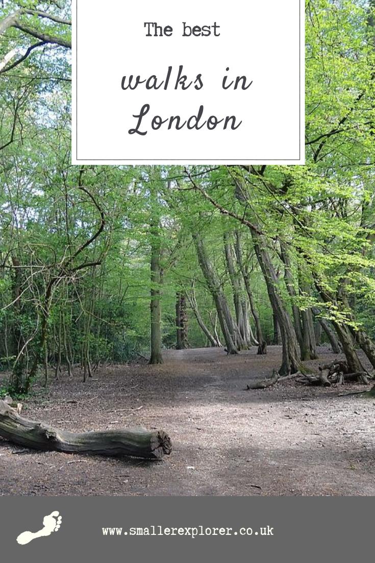 best walks in London