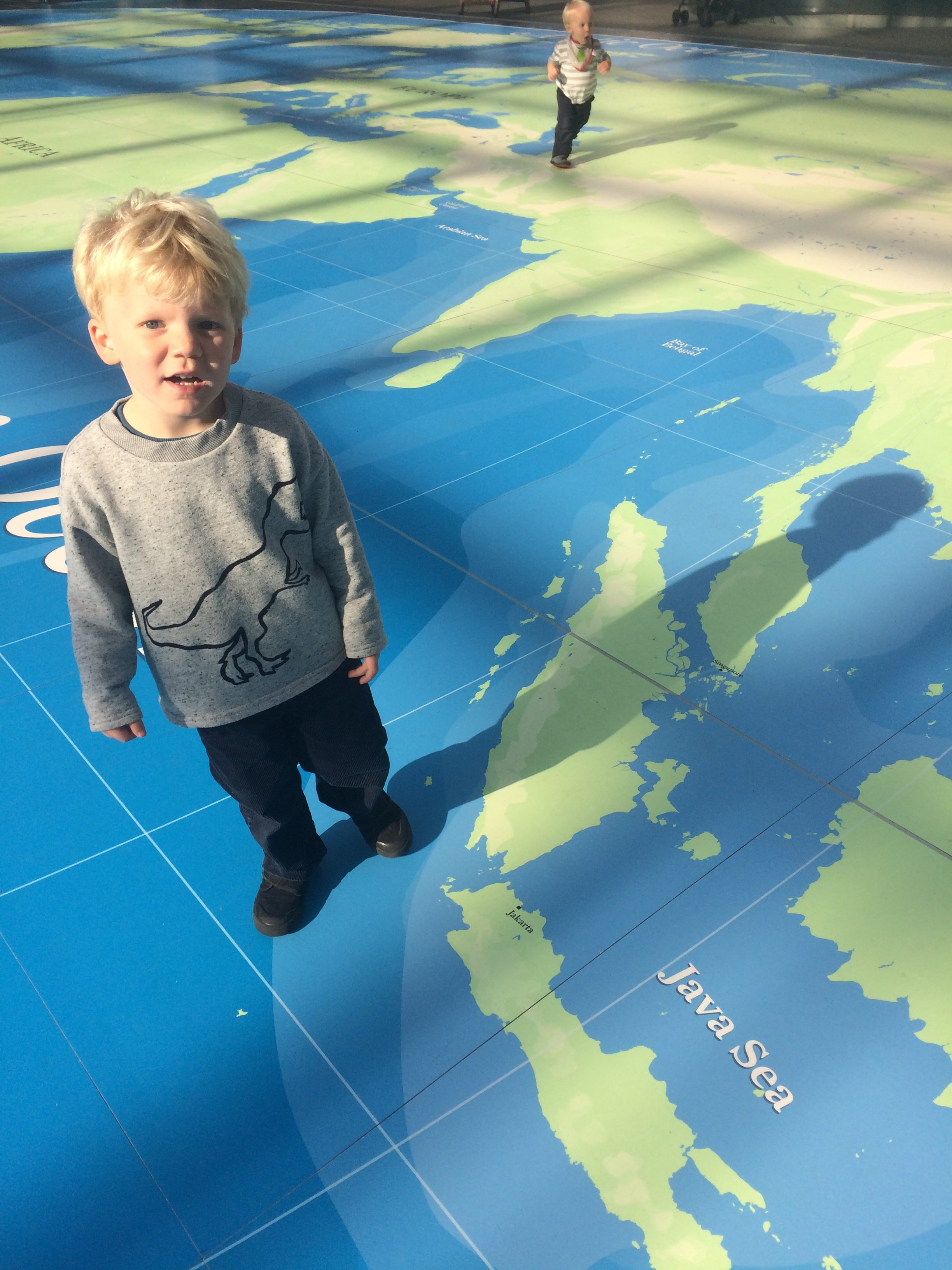 Things to do in Greenwich, world map, Maritime Museum