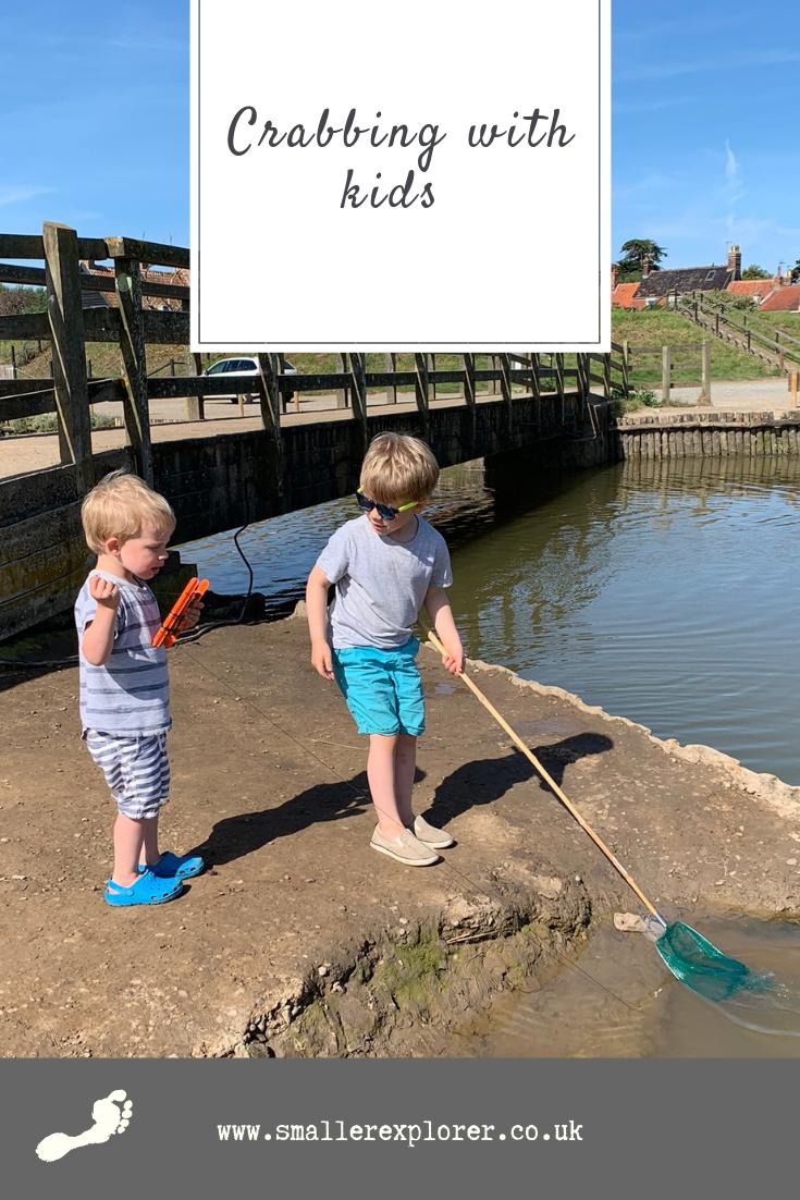 Crabbing in Walberswick