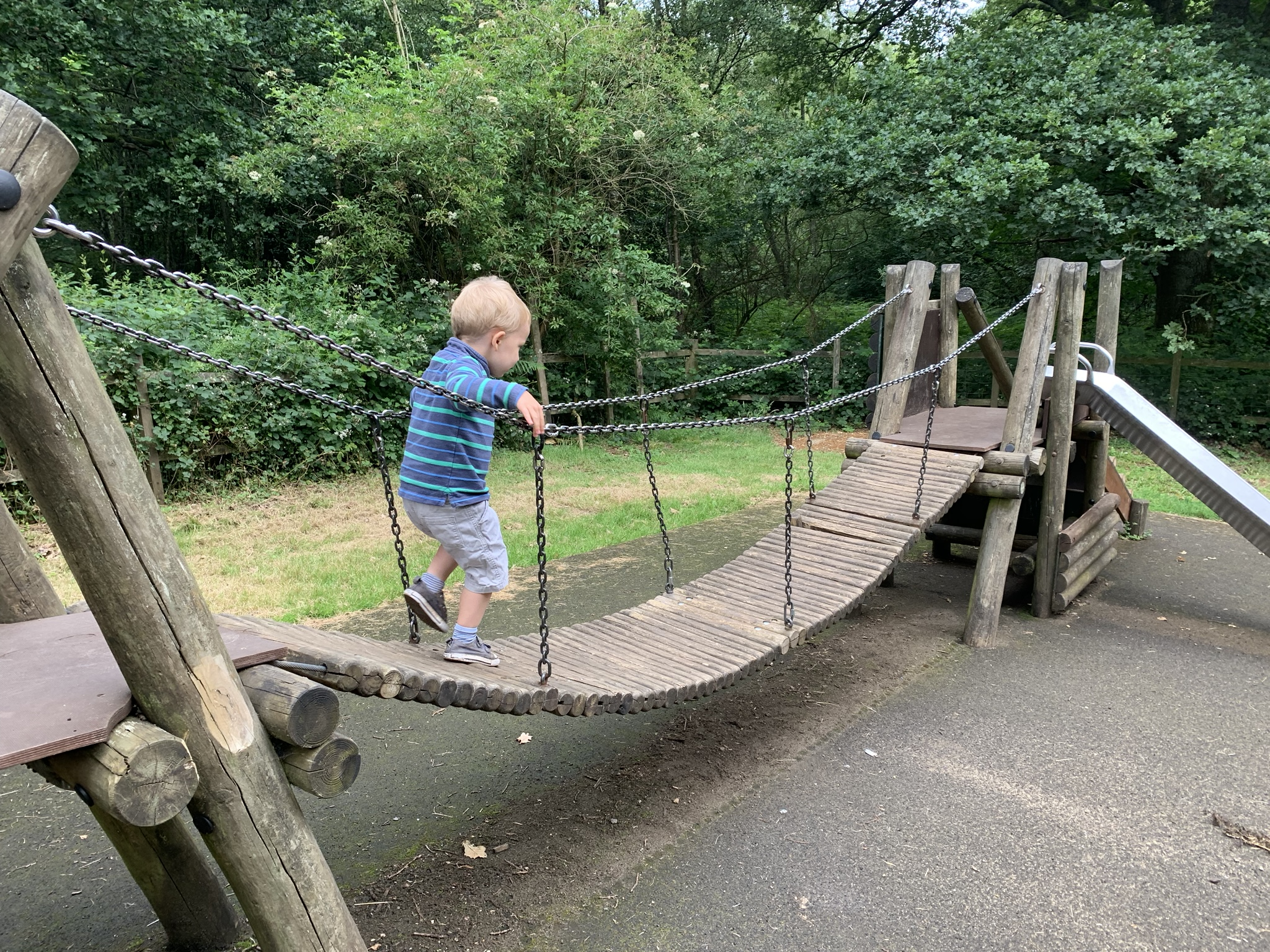 Small playground, Newlands Corner