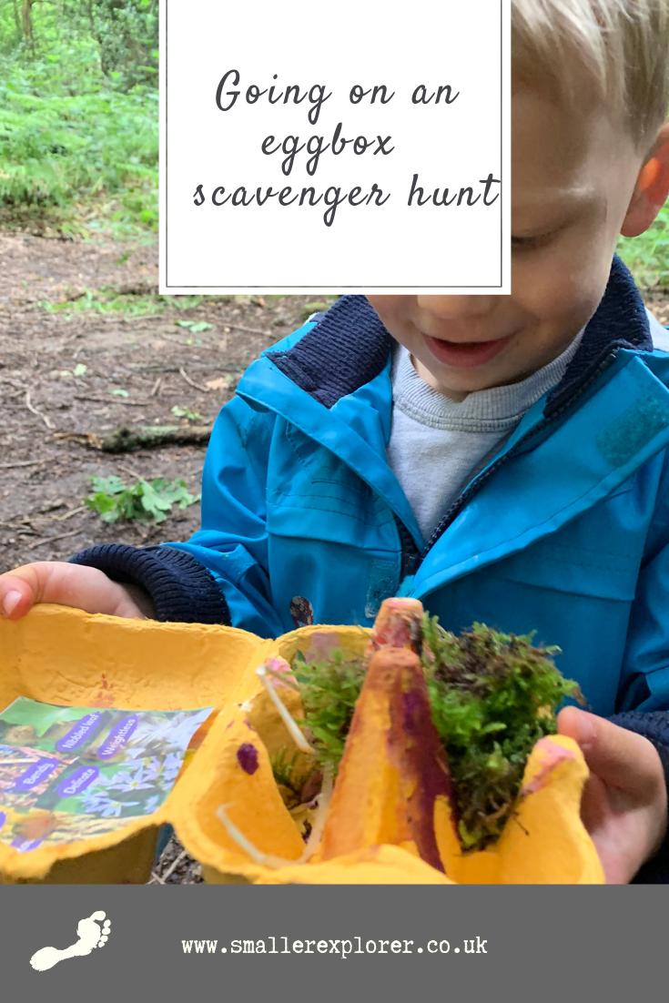 Eggbox scavenger hunt